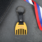 """FOB comb for beards """"Cool guy"""", 6 x 12 cm"""