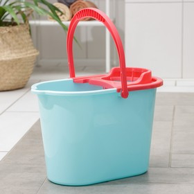 Ведро с отжимом «Классика», 10 л, цвет МИКС
