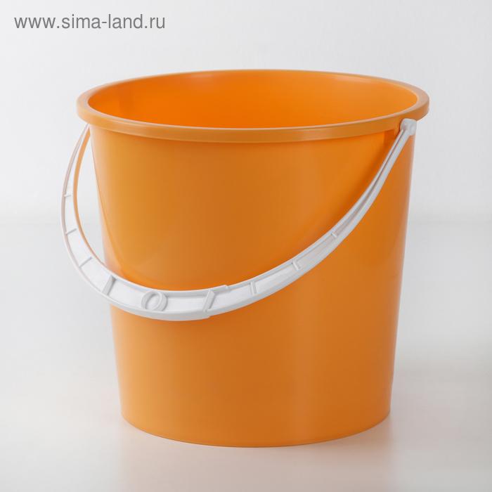 """Ведро пластиковое 5 л """"Крепыш"""", цвета МИКС"""
