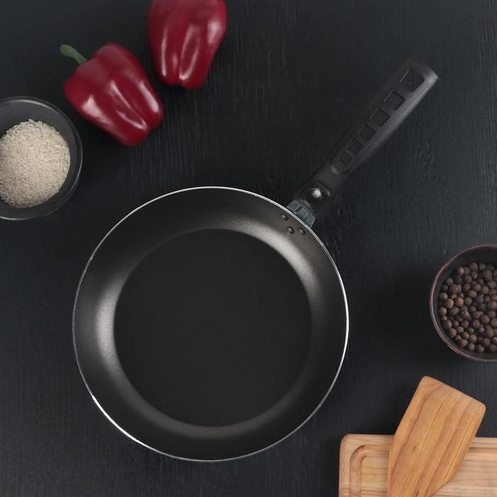 Сковорода «Экономика сатин», 24 см, съёмная ручка