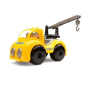 Машинка кран «Крепыш на стройке», 33 см