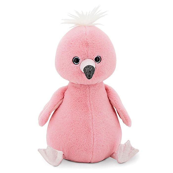 Мягкая игрушка «Фламинго» 35 см - фото 105612005