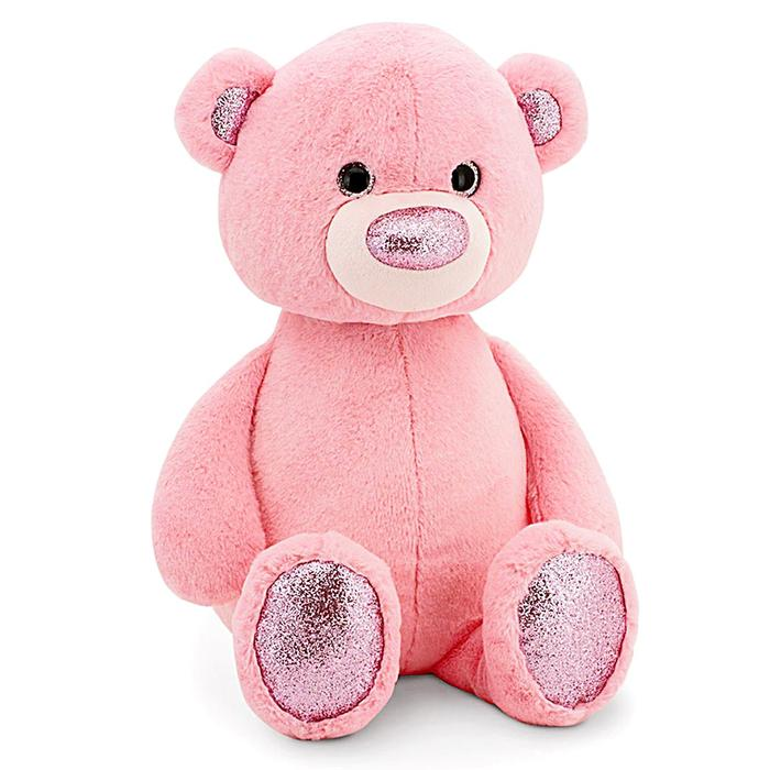 Мягкая игрушка «Медвежонок», цвет розовый, 22 см - фото 105611193