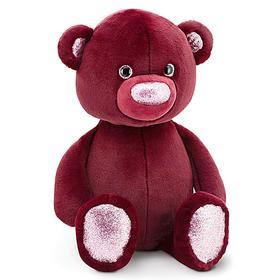 Мягкая игрушка «Медвежонок», цвет бордовый, 22 см