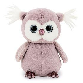 Мягкая игрушка «Совёнок» цвет сиреневый, 22 см