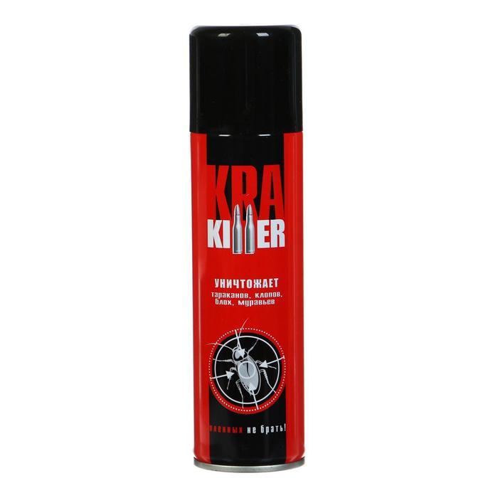 """Аэрозоль от ползающих насекомых """"KRA Killer"""" Дихлофос, 230 мл"""