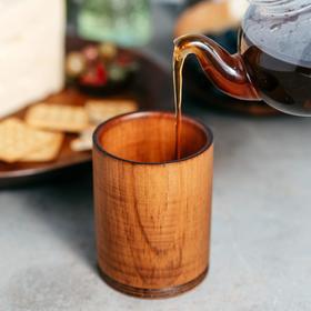 {{photo.Alt    photo.Description    'Стакан из натурального кедра Mаgistrо, 450 мл, 10×8 см, цвет коричневый'}}