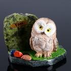 "Souvenir ""Owl"", 8х12х8 cm, serpentine, gypsum"