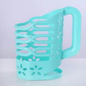 Держатель для молока 1 л, цвет МИКС