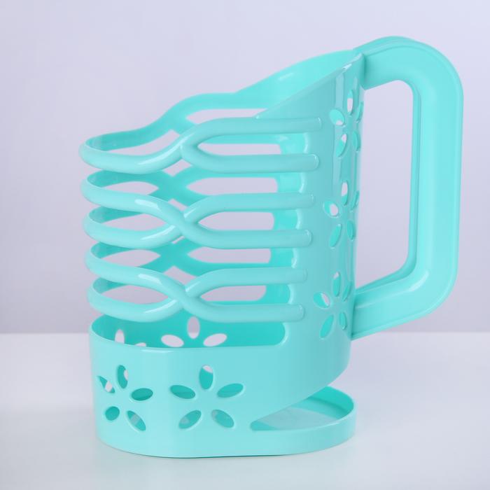 Подставка для пакета молока 1 л, цвет МИКС