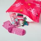 """Набор подарочный """"Фламинго"""" подушка-секрет 40х40 см и аксессуары (4 шт) - фото 105554637"""