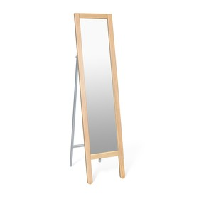 Зеркало напольное Альберо, 360x520x1465,прозрачный лак