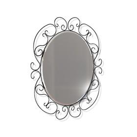 Зеркало навесное Грация, 580x10x750,черный