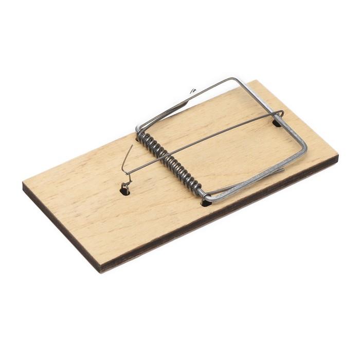 Крысоловка, 15 × 7,5 см, деревянная