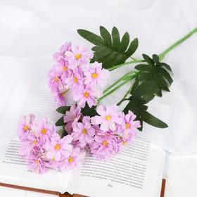 "The artificial flower ""Primula lush"" 4*53 cm, lilac"