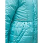 Пальто для девочки, цвет бирюзовый, рост 86-92 см - фото 105563769