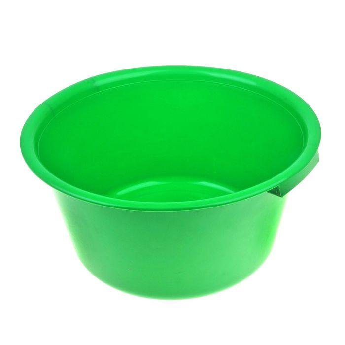Таз пластиковый 18 л, цвет МИКС