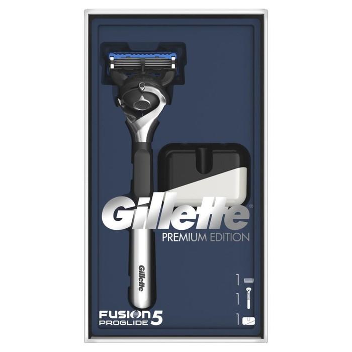 Набор Gillette Fusion5 ProGlide Flexball: Бритва с 1 сменной кассетой, Подставка