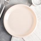 Тарелка десертная d=18,5 см, цвет МИКС