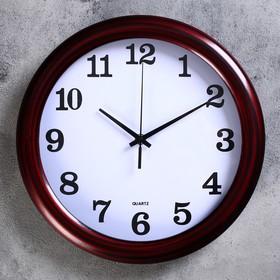 "Wall clock, series: Classic, ""Dassel"" d=30 cm, smooth running"