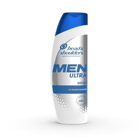 Шампунь Head & Shoulders Men Ultra Detox, против перхоти, со свежим имбирем, 360 мл