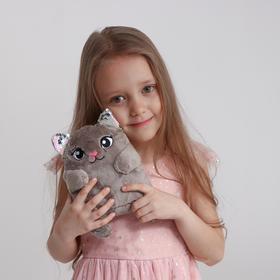 Мягкая игрушка «Кошечка Леся», с пайетками