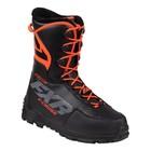 Ботинки FXR X-Cross Pro с утеплителем, размер 37, чёрный, оранжевый