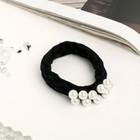 """Elastic hair band """"Gabriel"""" 5.5 cm beads"""