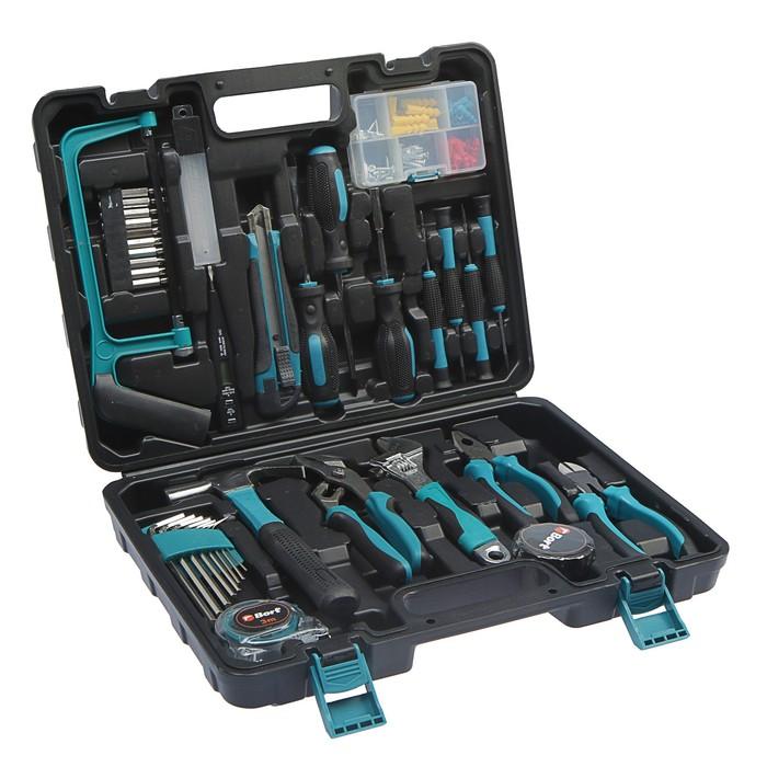 Набор инструментов Bort BTK-100, 100 предметов, кейс - фото 7385209