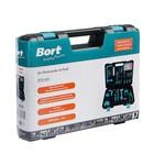 Набор инструментов Bort BTK-100, 100 предметов, кейс - фото 7385212