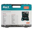 Набор инструментов Bort BTK-100, 100 предметов, кейс - фото 7385213