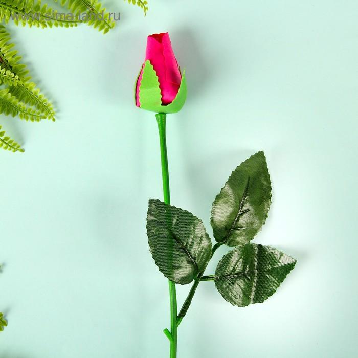 """Мыльные лепестки """"Роза в подарок"""", цвет малиновый"""