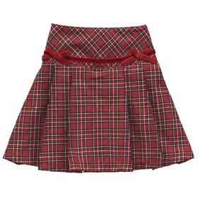 Юбка для девочки, рост 92 см, цвет красный Ош