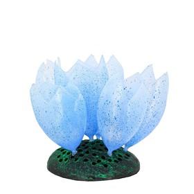 Флуоресцентная аквариумная декорация GLOXY «Морской желудь» 9.8x7.5x11 см