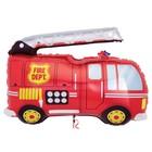 """Foil balloon 16"""" """"Fire truck"""""""