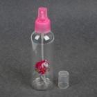 Бутылочка для хранения «Единорог», с распылителем, 150 мл, цвет розовый