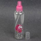 Бутылочка для хранения «Единорог», с распылителем, 200 мл, цвет розовый