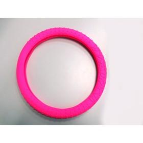 Оплетка на руль SWC-02 силиконовая, розовый