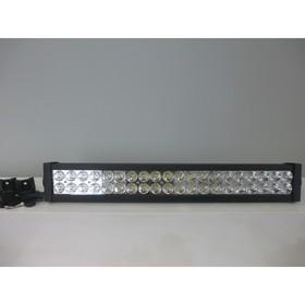 Фара светодиодная OFF ROAD, KS-EL-120 Вт, 40 диодов х 3 Вт, 120 Вт, 8400 Lm, направленный свет, алюминиевый корпус, пылевлагозащищенный, 565х85х75 мм, 10-30 В