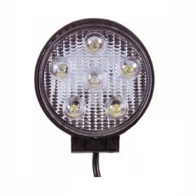Фара светодиодная OFF ROAD, SW-12005А, 6 диодов, 18 Вт, 950 Lm, направленный свет, алюминиевый корпус, пылевлагозащищенный, 116х43х137 мм, 12/24 В