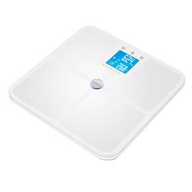 Весы напольные Beurer BF 950, диагностические, до 180 кг, 4хААА, 8 ячеек памяти, белые