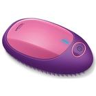 Расчёска для выпрямления волос Beurer HT 10, 2хААА, ионизация, розовая
