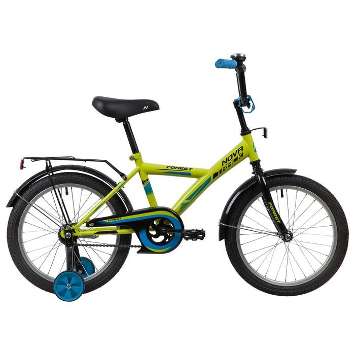 """Велосипед 18"""" Novatrack YT Forest, 2020, цвет зелёный"""