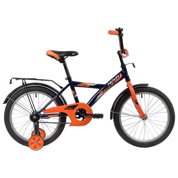 """Велосипед 16"""" Novatrack Astra, 2020, цвет синий"""