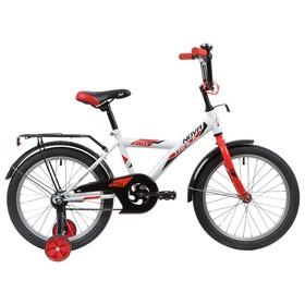 """Велосипед 16"""" Novatrack Astra, 2020, цвет белый"""