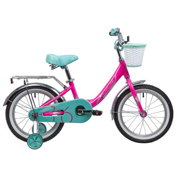 """Велосипед 16"""" Novatrack Ancona, 2019, цвет розовый"""