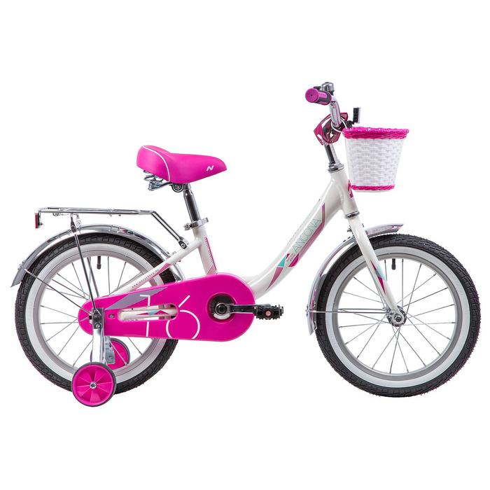 """Велосипед 16"""" Novatrack Ancona, 2019, цвет белый"""