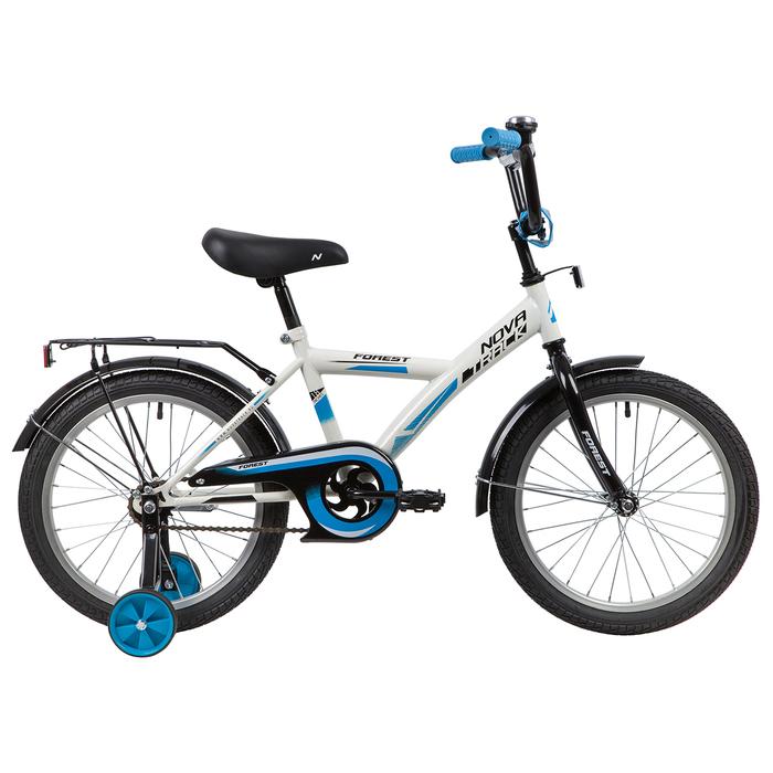 """Велосипед 18"""" Novatrack YT Forest, 2020, цвет белый"""