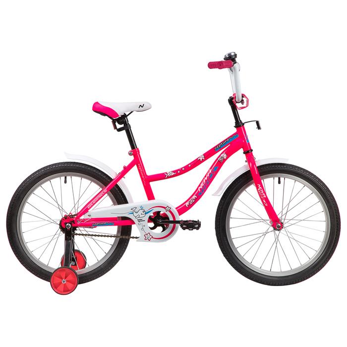 """Велосипед 20"""" Novatrack Neptune, 2020, цвет розовый"""