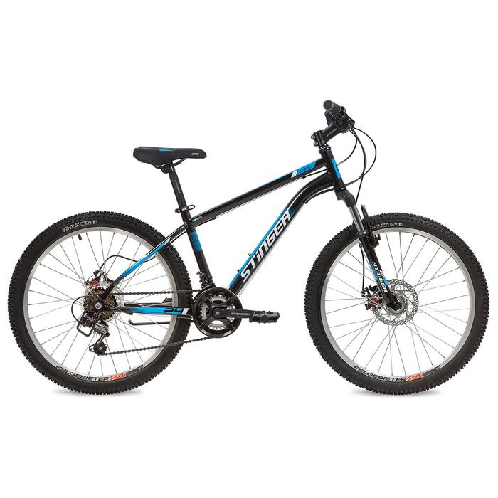 """Велосипед 24"""" Stinger Caiman D, 2020, цвет чёрный, размер 12"""""""